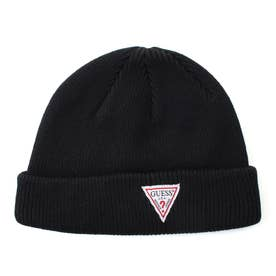 Triangle Logo Beanie (BLACK)