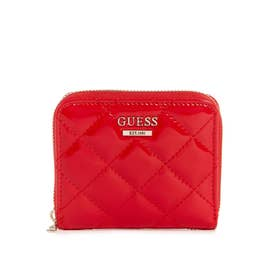 MELISE SLG SMALL ZIP AROUND (RED)