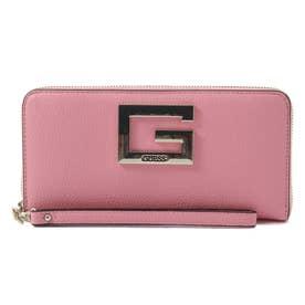 BRIGHTSIDE Large Zip Around Wallet (PINK)