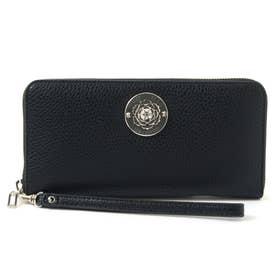 BELLE ISLE Large Zip Around Wallet (BLACK)