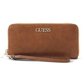 ALBY Large Zip Around Wallet (COGNAC)