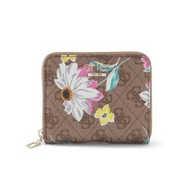 NOELLE Floral 4G Logo Small Zip Around Wallet (LOGO FLORAL)