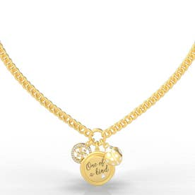 MY FEELINGS One Of A Kind Charm Necklace (Gold) (GOLD)