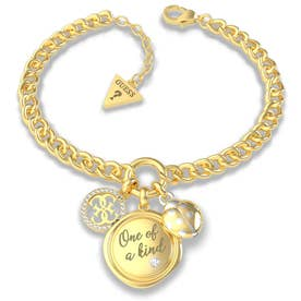 MY FEELINGS One Of A Kind Charm Necklace (Yellow Gold) (GOLD)
