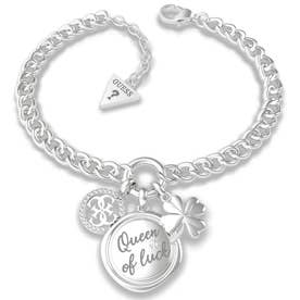 MY FEELINGS Queen Of Luck Charm Bracelet (Silver) (SILVER)