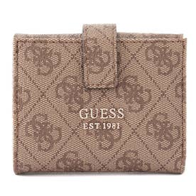 ALISA Petite Trifold Wallet (LATTE / ORANGE)