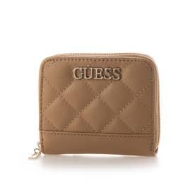 ILLY Small Zip Around Wallet (BEIGE)