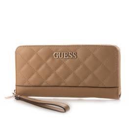ILLY Large Zip Around Wallet (BEIGE)