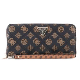CESSILY Large Zip Around Wallet (MOCHA MULTI)