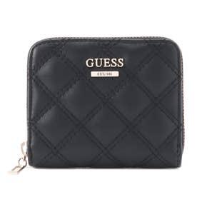 CESSILY Small Zip Around Wallet (BLACK)