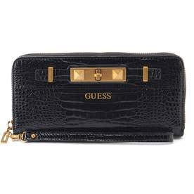 RAFFIE Large Zip Around Wallet (BLACK)