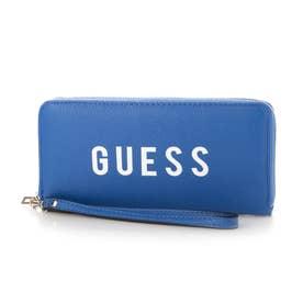 LILA Large Zip Around Wallet (BLUE)