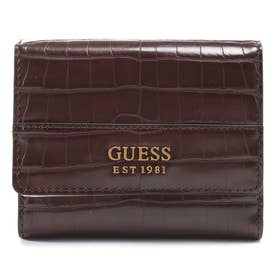 KATEY Small Trifold Wallet (BROWN)