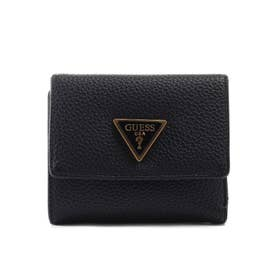 DOWNTOWN CHIC Small Trifold Wallet (BLACK)