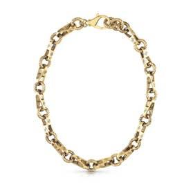 4G VINTAGE 18'' Torchon Chain Necklace (Antique Gold) (AG)