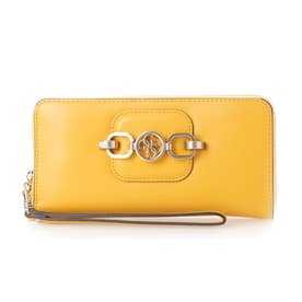 HENSELY Large Zip Around Wallet (MARIGOLD)