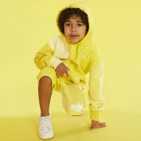 x J BALVIN Color-Block Hooded Parka (COLOMBIA YELLOW MULTI)