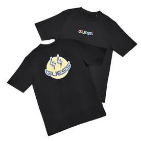 [KIDS] x J BALVIN Guess Smile Tee (JET BLACK)