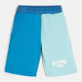 x J BALVIN Color-Block Sweat Short (BOBO BLUE MULTI)