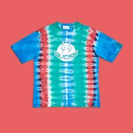 [KIDS] x J BALVIN Smile Tie-Dye Tee (BOBO BLUE MULTI)