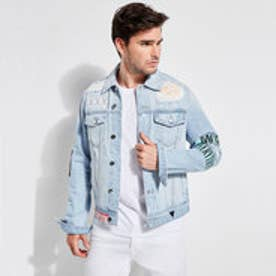 DILLON PATCH DENIM JACKET (INDIGO HAZE WASH)