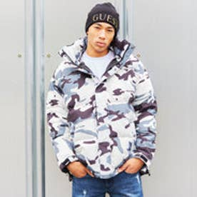 LOGO DOWN JACKET (WHITE CAMO)