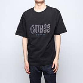 MEN'S S/SLV TEE SHIRT LOOSE FIT_TOKYO LINE (BLACK)