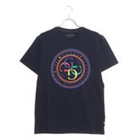 G-STAMP CREW TEE (BLUE NAVY/BLUE)