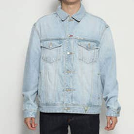 Originals OVERSIZED DENIM JACKET (BLEACH INDIGO)