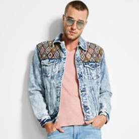 HERITAGE PATCH DENIM JACKET (AGED STONEWASH)