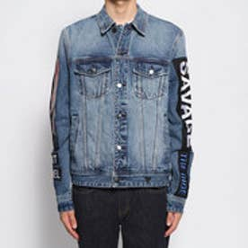 DILLION EMBELLISHED DENIM JACKET (SPECTRE WASH)