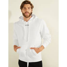 Eco Roy Embroidered Logo Hooded Parka (FROSTED WHITE)