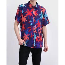 Rogan Hidden Palms S/S Shirt (HIDDEN PALMS PRINT)