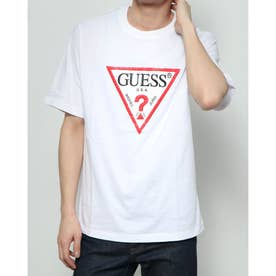 Lettering Triangle Logo Tee (WHITE)