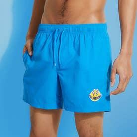 x J BALVIN Smile Woven Medium Swim Short (ATMOSPHERE BLUE)