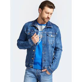 WILLIAM DENIM JACKET (HYPED BLUE)