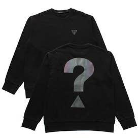 Unisex Big Question- Logo Sweat (BLACK)