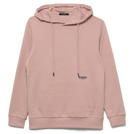 Logo Hooded Pullover Parka (LIGHT PINK)