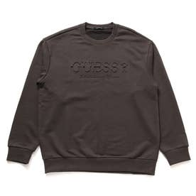 Emboss Logo Sweat (DARK GREY)