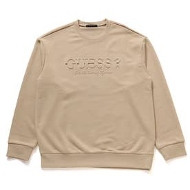 Emboss Logo Sweat (LIGHT BEIGE)