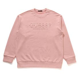 Emboss Logo Sweat (LIGHT PINK)