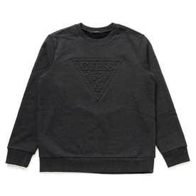 Emboss Triangle Logo Sweat (BLACK)