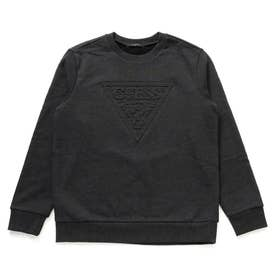 Emboss Triangle Logo Sweat (BLACK)