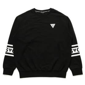 Unisex Sleeve Logo Sweat (BLACK)