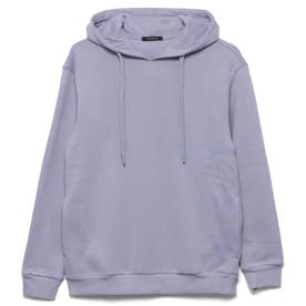Side Triangle Logo Hooded Pullover Parka (LAVENDER)