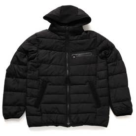 Hooded Padding Jacket (BLACK)
