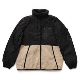 Boa Mix Padding Jacket (BLACK)