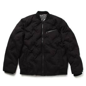 Seamless Short Down Jacket (BLACK)