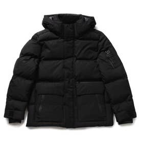 Hooded Short Down Jacket (BLACK)