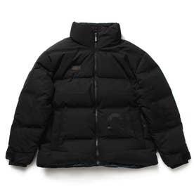 Seamless High-Neck Down Jacket (BLACK)